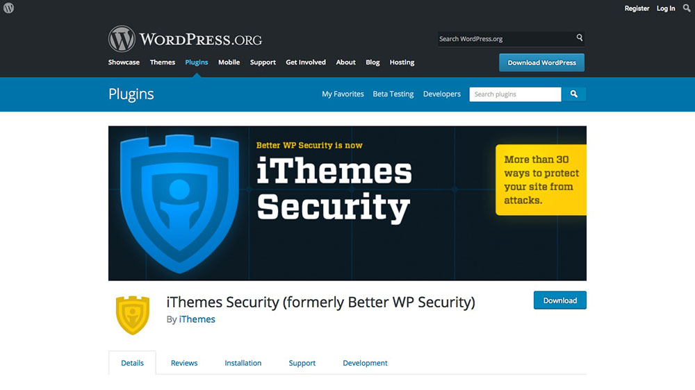 افزونه امنیتی iThemes