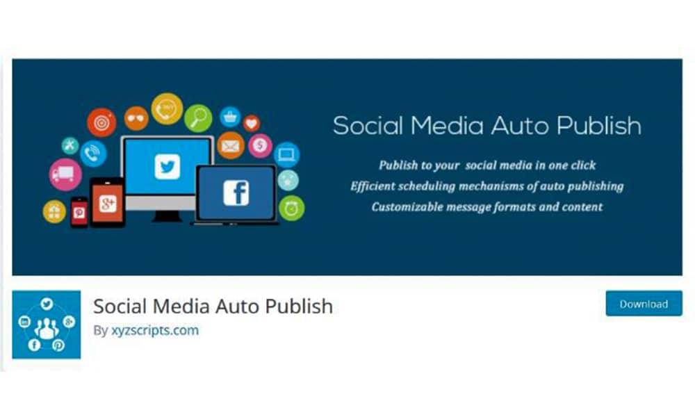 انتشار اتوماتیک مطالب سایت با افزونه Social Media Auto Publish Plugin