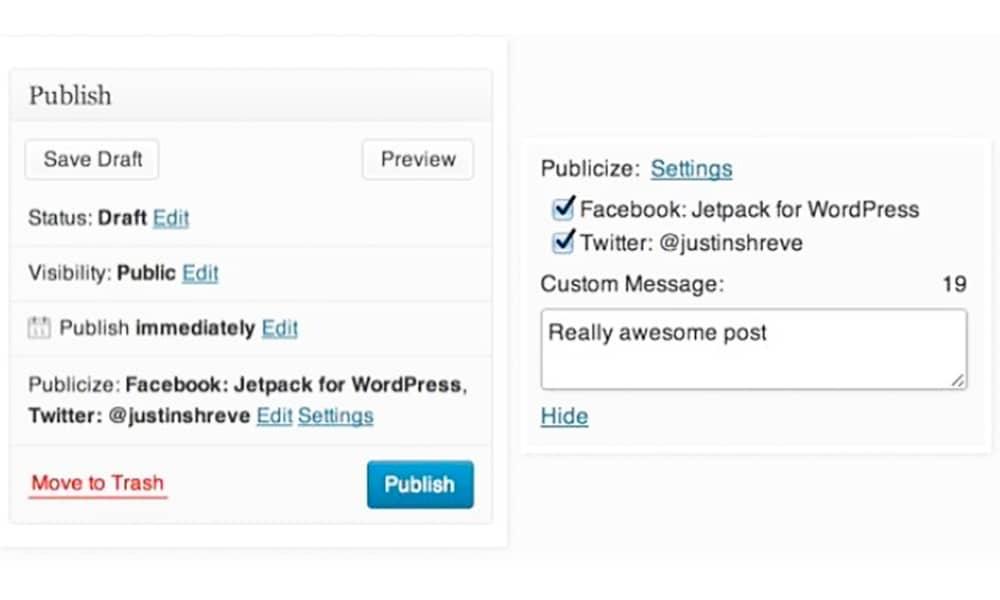 انتشار اتوماتیک مطالب سایت با افزونه Jetpack