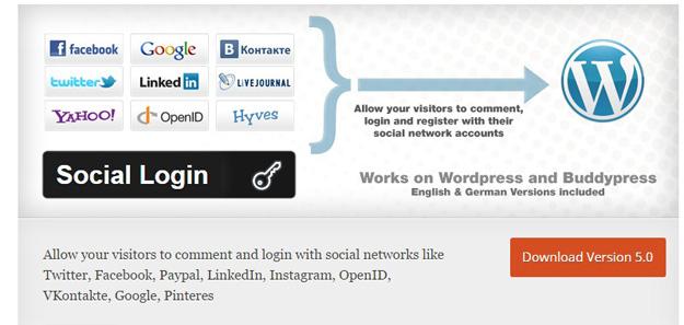 ورود و ثبت نام با اکانت شبکههای اجتماعی